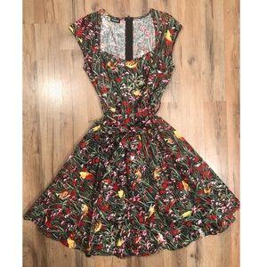 *RARE* Retrolicious Birds Dress